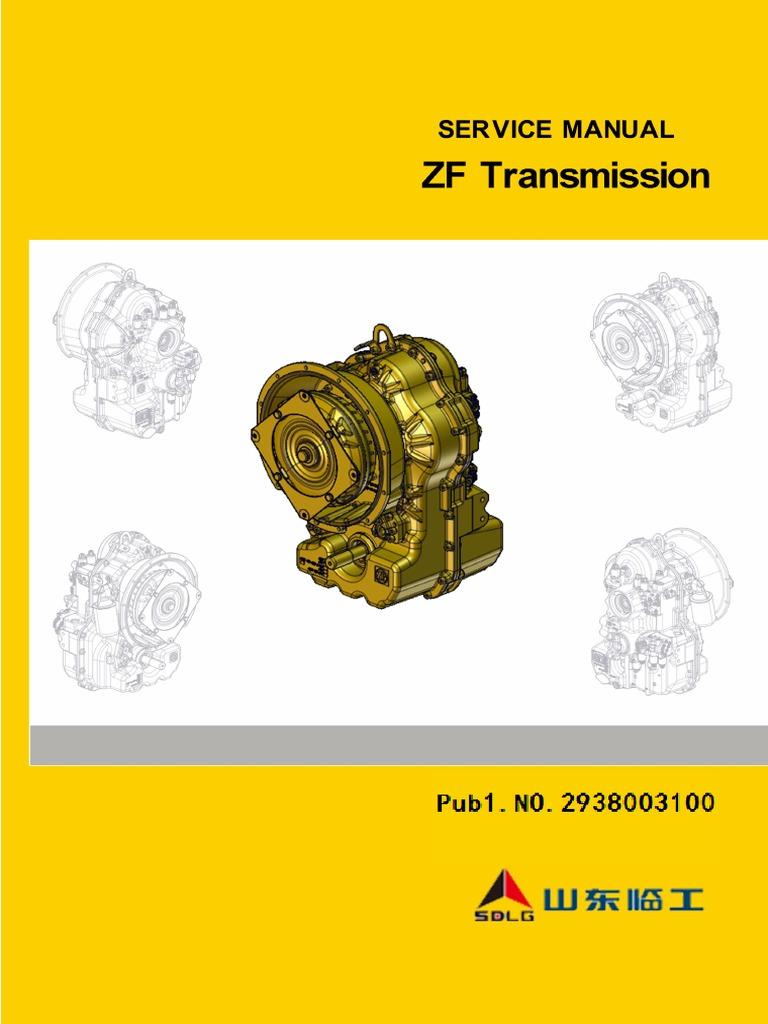 4WG94 Transmission Service Manual pdf | Bearing (Mechanical
