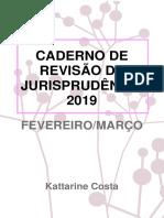 Caderno de Revisão de Jurisprudência 2019 - Fevereiro e Março