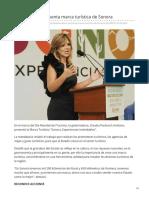 27-09-2018 Gobernadora presenta marca turística de Sonora-El imparcial
