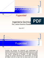 COEFICIENTES DE FUGACIDAD