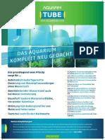 Aquafim Tube Plakat