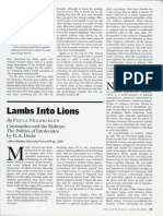 Lambs Into Lions