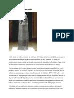 El Código de Hammurabi y la ley del talion.docx