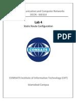 Lab Manual 04 Static Route Configuration-ed