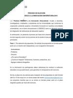 Proceso de Premios Cidesco