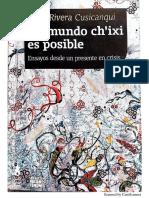 um mundo chixi es possible Cusicanqui.pdf