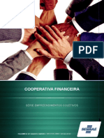 COOPERATIVAS FINANCEIRAS - SEBRAE