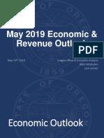May 2019 Economic & Revenue Outlook