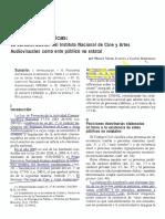 Ivanega, Miriam. Paradojas Jurídicas. INCAA. Criterios Distincion Persona Publica No Estatal