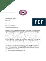 Supt Press Release Bessemer BOE Football Coaching Staff