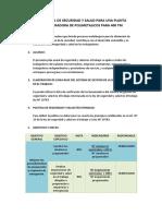 PLAN ANUAL DE SEGURIDAD Y SALUD PARA UNA PLANTA CONCENTRADORA DE POLIMETALICOS PARA 400 TM.docx