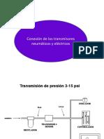 Conexión de Transmisores