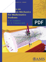 (Student Mathematical Library 47) L. D. Faddeev and O. A. Yakubovskii - Lectures on Quantum Mechanics for Mathematics Students (Student Mathematical Library)  -American Mathematical Society (2009).pdf