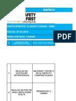 Monitoreo Inspeccion CPHS Casino LA COPIA 07-03-2019