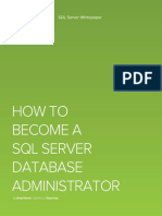 How to Become a DBA