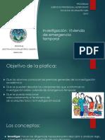 Investigacion Vivienda Emergencia 2019.1