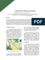 85-2004 Los Tuneles Del Metro de Valencia en Venezuela