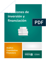 Decisiones de Inversión y Financiación