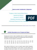 Clase Medidas Estadisticas(1)