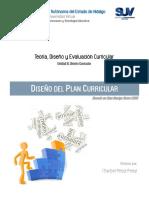 Diseño del plan Curricular