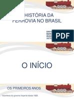 A história da ferrovia no  Brasil rev