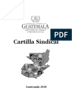 Cartilla Sindical de Guatemala