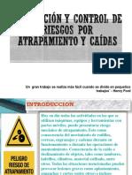 Prevención y Control de Riesgos Por Atrapamiento y Caídas