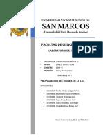 PROPAGACION RECTILINEA DE LA LUZ IMFORME 2 FISICA 4.docx