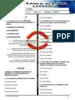 Examen de Economía I NIVEL - ABRIL