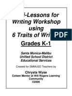 Writing Mini Lessons 06