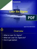 1-8 Lean Six Sigma Training