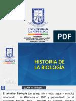 1.- Historia de La Biología 2019
