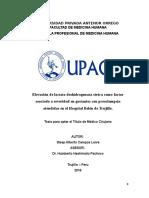 Proyecto de Tesis Medicina Steep Alberto Campos Leiva