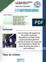 Ciclones y Anticiclones Ppt