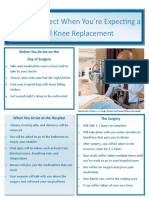 academy of geriatric physical therapy knee replacement brochure