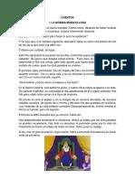 CUENTOS LEYENDAS FABULAS CHISTES OBRAS DE TEARO CANCIONES ADIVINANZAS TRABALENGUAS.docx