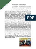 AMÉRICA DESPUÉS DE LAS INDEPENDENCIAS SURGIMIENTO DE LOS ESTADOS.docx