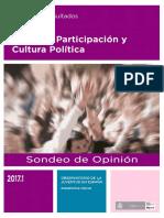Sondeo 2017-1 Informe