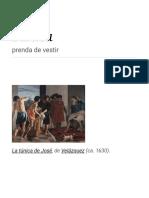Túnica - Wikipedia, La Enciclopedia Libre