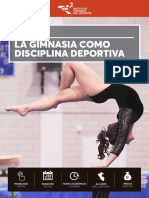 CURSO La Gimnasia Como Disciplina Deportiva