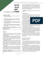 Estudio Epidemiologico Mucosa Oral España