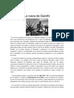 La rueca de Gandhi ensayo.docx