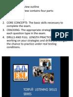 TOEFL strategies