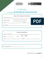 2do grado PRUEBA ENTRADA COMUNICACION.pdf
