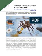 Informe Especial Contratación en Colombia