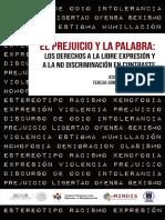 prejuicio y discriminación vs libertad de expresión.pdf