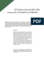 De la renta de la tierra a la renta de la vida. B. Rubio.pdf
