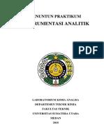 Penuntun Praktikum Instrumentasi Analitik