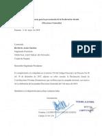 Informe Ingresos y Gastos Laurentino Cortizo