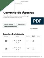 Aposte Online Na Mega-Sena
